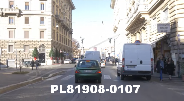 Vimeo clip HD & 4k Driving Plates Rome, Italy PL81908-0107