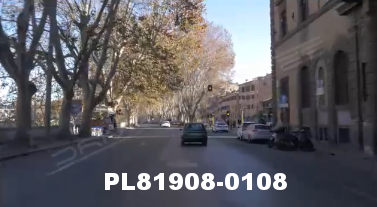 Vimeo clip HD & 4k Driving Plates Rome, Italy PL81908-0108