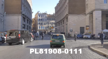 Vimeo clip HD & 4k Driving Plates Rome, Italy PL81908-0111