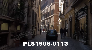 Vimeo clip HD & 4k Driving Plates Rome, Italy PL81908-0113