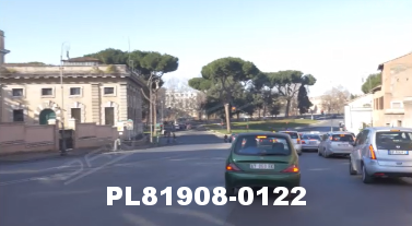 Vimeo clip HD & 4k Driving Plates Rome, Italy PL81908-0122