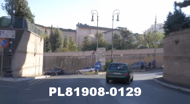 Vimeo clip HD & 4k Driving Plates Rome, Italy PL81908-0129