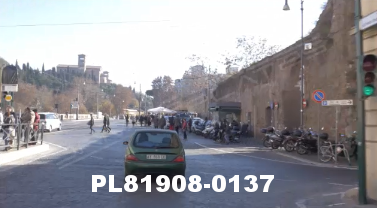 Vimeo clip HD & 4k Driving Plates Rome, Italy PL81908-0137