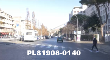 Vimeo clip HD & 4k Driving Plates Rome, Italy PL81908-0140