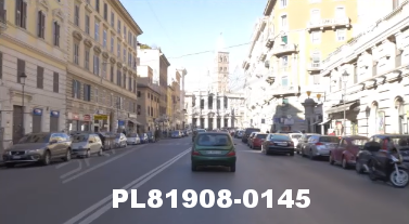 Vimeo clip HD & 4k Driving Plates Rome, Italy PL81908-0145