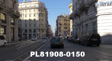 Vimeo clip HD & 4k Driving Plates Rome, Italy PL81908-0150