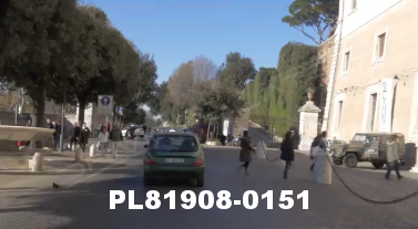 Vimeo clip HD & 4k Driving Plates Rome, Italy PL81908-0151