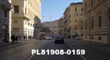 Vimeo clip HD & 4k Driving Plates Rome, Italy PL81908-0159