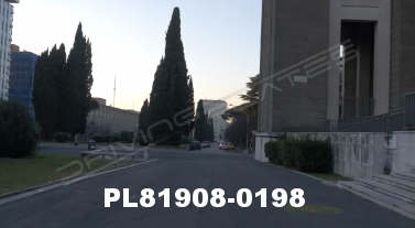 Vimeo clip HD & 4k Driving Plates Rome, Italy PL81908-0198