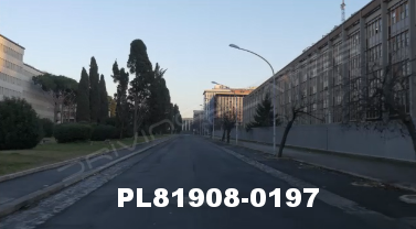Vimeo clip HD & 4k Driving Plates Rome, Italy PL81908-0197
