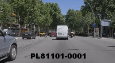 Vimeo clip HD & 4k Driving Plates Barcelona, Spain PL81101-0001