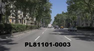 Vimeo clip HD & 4k Driving Plates Barcelona, Spain PL81101-0003