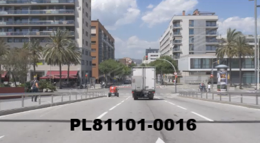 Vimeo clip HD & 4k Driving Plates Barcelona, Spain PL81101-0016