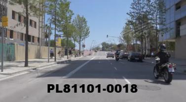 Vimeo clip HD & 4k Driving Plates Barcelona, Spain PL81101-0018