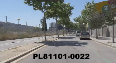 Vimeo clip HD & 4k Driving Plates Barcelona, Spain PL81101-0022