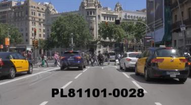 Vimeo clip HD & 4k Driving Plates Barcelona, Spain PL81101-0028