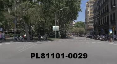 Vimeo clip HD & 4k Driving Plates Barcelona, Spain PL81101-0029