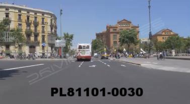 Vimeo clip HD & 4k Driving Plates Barcelona, Spain PL81101-0030