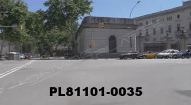 Vimeo clip HD & 4k Driving Plates Barcelona, Spain PL81101-0035