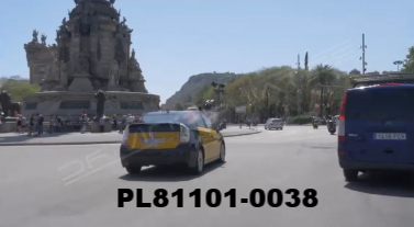 Vimeo clip HD & 4k Driving Plates Barcelona, Spain PL81101-0038