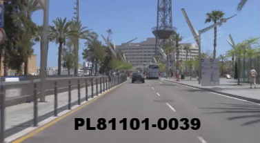Vimeo clip HD & 4k Driving Plates Barcelona, Spain PL81101-0039