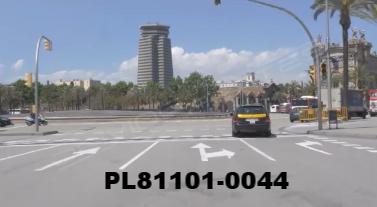 Vimeo clip HD & 4k Driving Plates Barcelona, Spain PL81101-0044