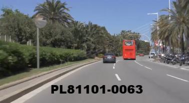 Vimeo clip HD & 4k Driving Plates Barcelona, Spain PL81101-0063