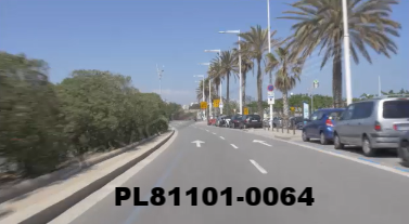 Vimeo clip HD & 4k Driving Plates Barcelona, Spain PL81101-0064