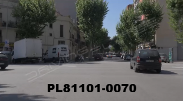 Vimeo clip HD & 4k Driving Plates Barcelona, Spain PL81101-0070