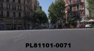 Vimeo clip HD & 4k Driving Plates Barcelona, Spain PL81101-0071