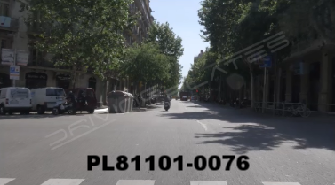 Vimeo clip HD & 4k Driving Plates Barcelona, Spain PL81101-0076