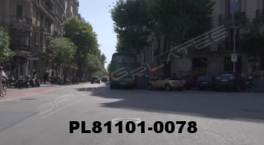 Vimeo clip HD & 4k Driving Plates Barcelona, Spain PL81101-0078
