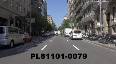 Vimeo clip HD & 4k Driving Plates Barcelona, Spain PL81101-0079