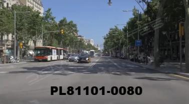 Vimeo clip HD & 4k Driving Plates Barcelona, Spain PL81101-0080