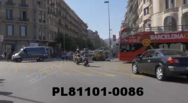 Vimeo clip HD & 4k Driving Plates Barcelona, Spain PL81101-0086