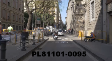 Vimeo clip HD & 4k Driving Plates Barcelona, Spain PL81101-0095