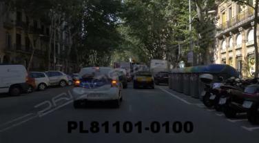 Vimeo clip HD & 4k Driving Plates Barcelona, Spain PL81101-0100