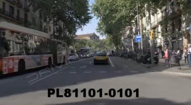 Vimeo clip HD & 4k Driving Plates Barcelona, Spain PL81101-0101