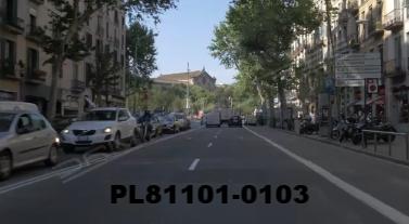Vimeo clip HD & 4k Driving Plates Barcelona, Spain PL81101-0103