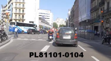 Vimeo clip HD & 4k Driving Plates Barcelona, Spain PL81101-0104
