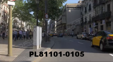 Vimeo clip HD & 4k Driving Plates Barcelona, Spain PL81101-0105