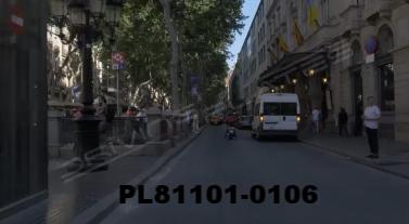 Vimeo clip HD & 4k Driving Plates Barcelona, Spain PL81101-0106