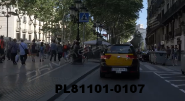 Vimeo clip HD & 4k Driving Plates Barcelona, Spain PL81101-0107