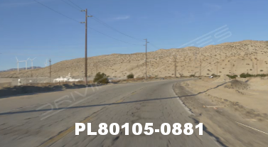 Vimeo clip HD & 4k Driving Plates Palm Springs, CA Day PL80105-0881