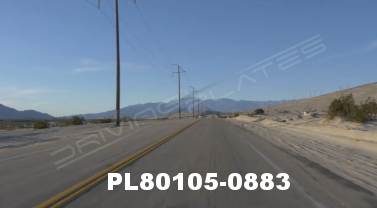 Vimeo clip HD & 4k Driving Plates Palm Springs, CA Day PL80105-0883