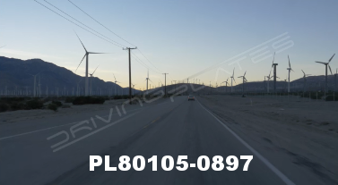 Vimeo clip HD & 4k Driving Plates Palm Springs, CA Day PL80105-0897