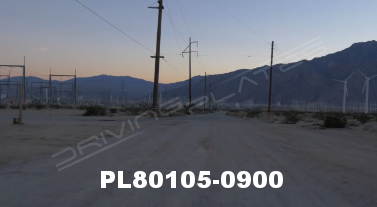 Vimeo clip HD & 4k Driving Plates Palm Springs, CA Day PL80105-0900