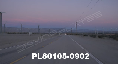 Vimeo clip HD & 4k Driving Plates Palm Springs, CA Day PL80105-0902