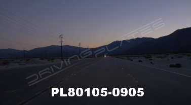 Vimeo clip HD & 4k Driving Plates Palm Springs, CA Day PL80105-0905