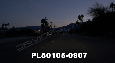 Vimeo clip HD & 4k Driving Plates Palm Springs, CA Day PL80105-0907